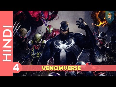 """venomverse""--episode 04!! Deadpool !!/marvel Comics In Hindi 