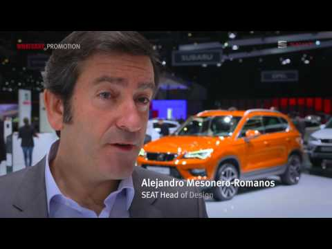 The New SEAT Ateca debut at Geneva Motor Show