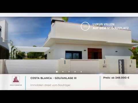 COSTA BLANCA IMMOBILIEN - Villa in Ibiza Look auf Golfanlage 3 kaufen - City Property