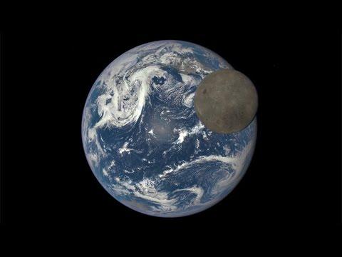 NASA衛星拍攝月之背面與月凌地奇觀