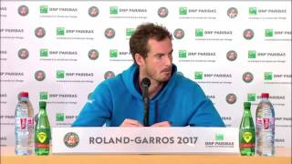 Andy Murray Press Conference R4 French Open 2017