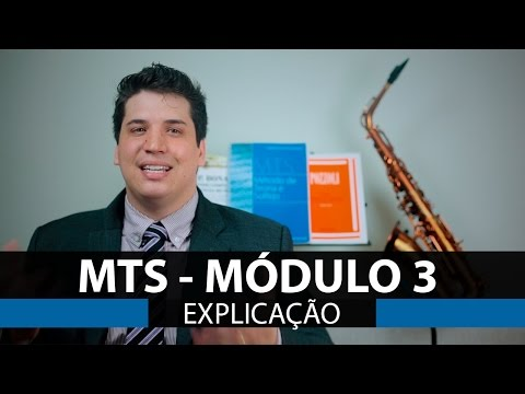 MTS - Módulo 3 - CCB - Novo Bona - Explicação - Método de Teoria e Solfejo