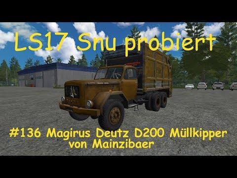 MAGIRUS DEUTZ DUMPSTER v1.0