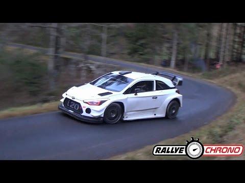 Test Neuville/Gilsoul - Hyundai I20 WRC 2017 [HD] - RallyeChrono