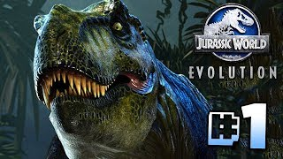 Building Jurassic World - Jurassic World Evolution  Ep1