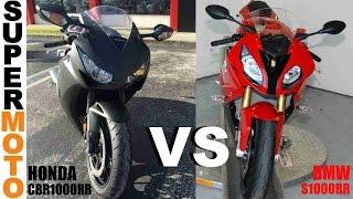 10. 2016 HONDA CBR1000RR Vs BMW S1000RR Superbikes