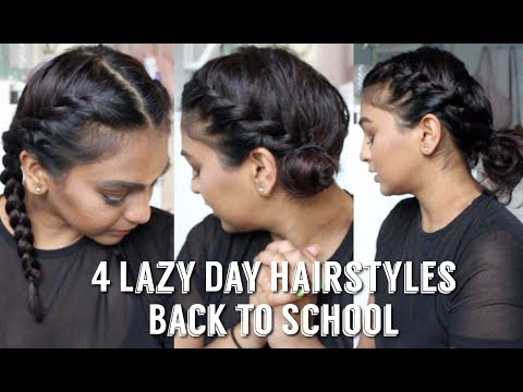4 LAZY DAY HAIRSTYLES FOR BACK TO SCHOOL (GREAT FOR SHORT HAIR TOO!)