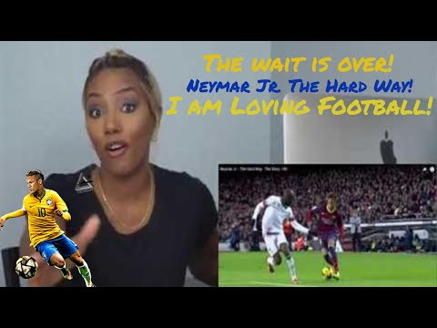 Clueless new American football fan reacts to Neymar Jr. - The Hard Way
