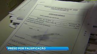 Homem é preso por comercializar atestados falsos em Assis