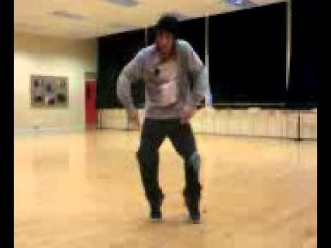 James break dancing