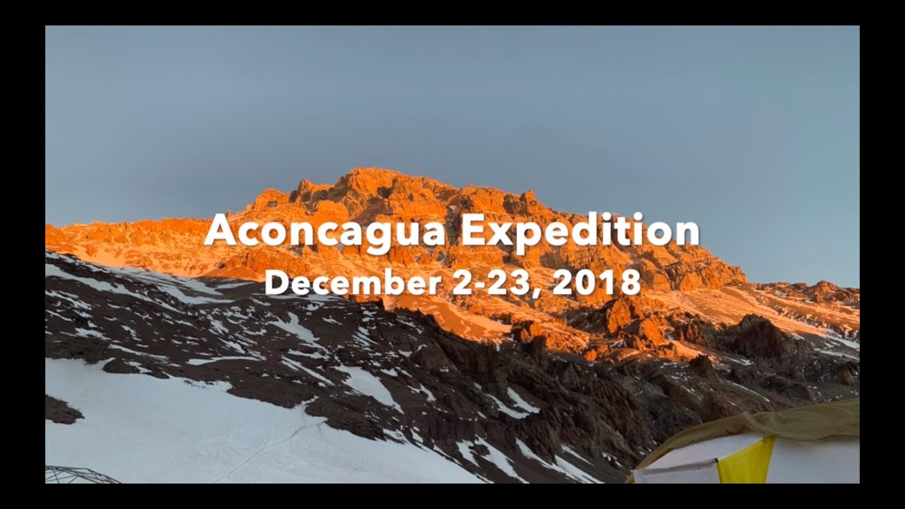 Expedition Aconcagua - December 2018 - with Elite Himalayan Adventures