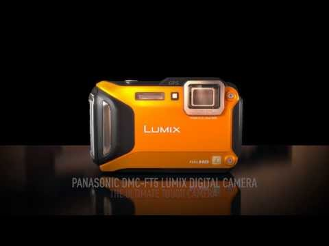 Panasonic Lumix DMC FT5 - Rugged, Tough and Waterproof Digital Camera