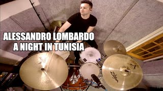 The trio composed of Dougie Freeman, Jules Jackson and Alessandro Lombardo performs the jazz standard A Night in Tunisia.