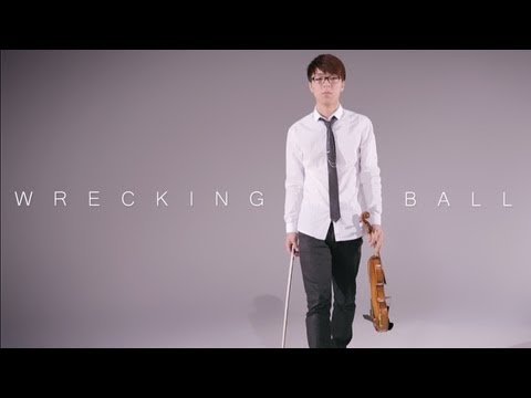 sung - Wrecking Ball - Miley Cyrus - (Jun Sung Ahn) Violin Cover Subscribe for more! (http://bit.ly/16N9NKD) Get this song on iTunes! (http://bit.ly/1fhnud5) Get th...