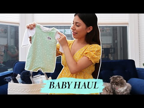 Baby Shopping For the First Time and Planning The Nursery!