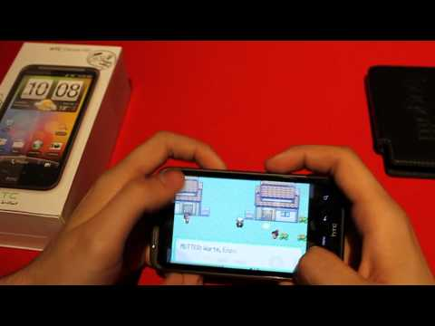 how to play pokemon on htc desire s