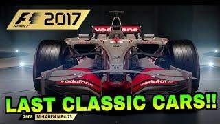 F1 2017: LAST CLASSIC CARS REVEALED! - Iconic McLarens. SO FINALLY WE HAVE THE FINAL CLASSIC CARS REVEALED...