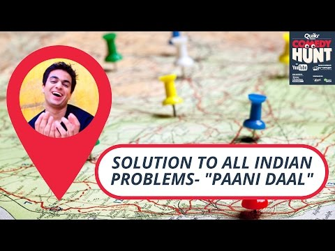 "Solution to all Indian problems-""Paani Daal"" 