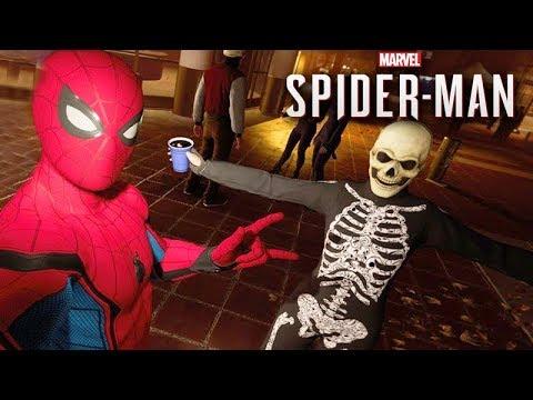 A FESTA do HOMEM ARANHA!!! - (SPIDER-MAN PS4) (видео)