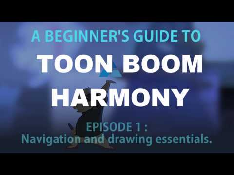 A beginner's guide to Toon Boom Harmony - Episode 1