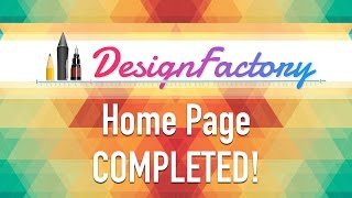 Design Factory #12How to Design a Website - Home Page Completed!:: Support Me ::http://www.alecaddd.com/support-me/:: Tutorial Series ::WordPress 101 - Create a theme from scratch: http://bit.ly/1RVHRLjWordPress Premium Theme Development: http://bit.ly/1UM80mRLearn SASS from Scratch: http://bit.ly/220yzmZDesign Factory: http://bit.ly/1X7CsazAffinity Designer: http://bit.ly/1X7CrDA:: My Website ::http://www.alecaddd.com/:: Follow me on ::Twitter: https://twitter.com/alecadddGoogle+: http://bit.ly/1Y7sunzFacebook: https://www.facebook.com/alecadddpage