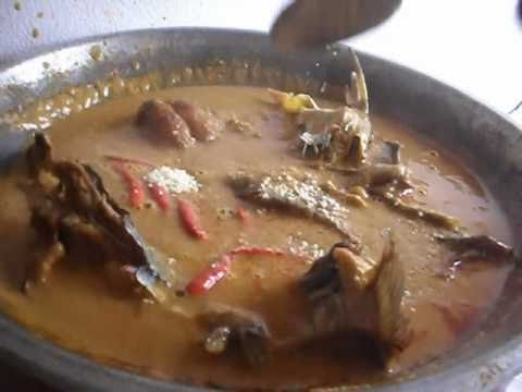 Peanut soup with smoked fish - African Food Recipes