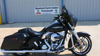 10. For Sale $15,499:  Pre Owned 2015 Harley Davidson Street Glide Special in Black Denim