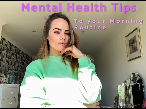 Mental Health Tips: Morning Routine