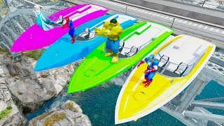 FUN LEARN COLORS Jetski River Boats & Big Truck w Spiderman And Superheroes Cars Cartoon For KidsWelcome to Car And Friends Channel. Video Learn Color & Number For KidsThis Channel is about cartoon characters as Spiderman, Hulk, Elsa...with music as finger family, nursery rhymes For Children!Thank For Watch!Playlist :Collection Learn Numbers Video For Kids With Spiderman Cars  : https://www.youtube.com/watch?v=LGEMBndDVZs&list=PLeiK9SGD5dcyj_n1Hp0Z4Yx6mc3jPrnOjCollection Learn Colors For Kids With Spiderman Cars Cartoon :https://www.youtube.com/watch?v=LGEMBndDVZs&list=PLeiK9SGD5dczlFB53UXxxW4RDKgKE1vc-Learn Colors Cars with Spiderman Nursery Rhymes  : https://www.youtube.com/watch?v=LGEMBndDVZs&list=PLeiK9SGD5dcwwwtCHLWgk0Unc5DTjEhfbLearn Number Cars And Trucks W Spiderman Cars Cartoon : https://www.youtube.com/watch?v=LGEMBndDVZs&list=PLeiK9SGD5dcxCq5t6fbAHtUaPjIRqSMFy