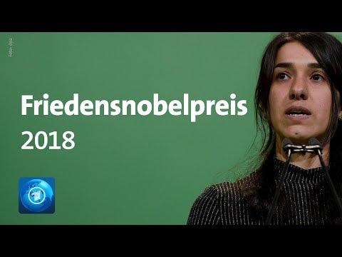 Friedensnobelpreis 2018: Kämpfer gegen sexuelle Gewalt