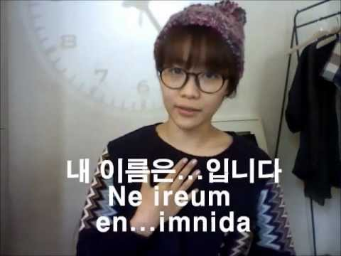Sunny's How To Speak Korean! 1) Greeting