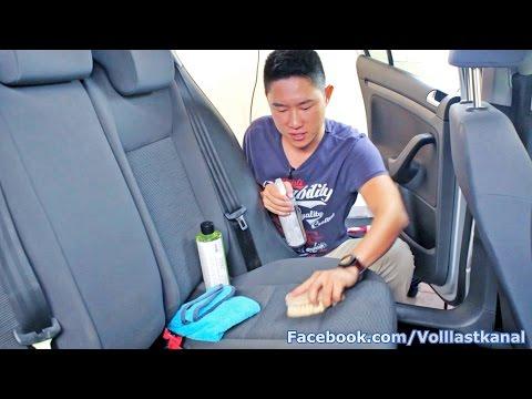 AUTO INNENRAUM AUFBEREITUNG - EXTREMBEISPIEL VW GOLF V / Innenraum reinigen und aufbereiten