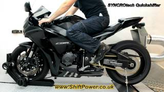 7. SYNCROtech Quickshifter, CBR1000RR on Dyno, ultrafast and smooth