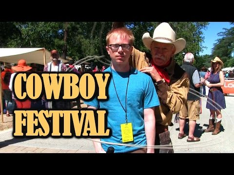 Joe Goes To THE COWBOY FESTIVAL