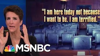 New Brett Kavanaugh Allegations Come To Light Ahead Of Dr. Ford Hearing | Rachel Maddow | MSNBC
