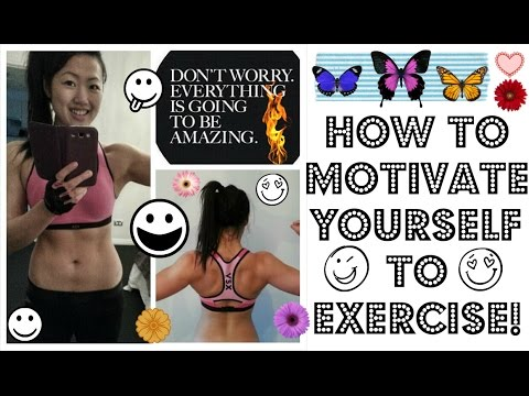 HOW TO MOTIVATE YOURSELF TO EXERCISE (Find your inner motivation to work out!)