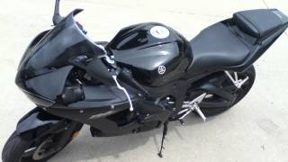 10. 2008 Yamaha R6s Raven Black Special Edition