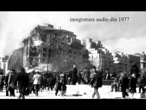 Zgomotul morții: Încă un an, aceiași fiori! Unica înregistrare a cutremurului din 4 martie 1977