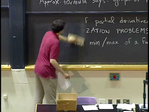 Lec 9 | MIT 18.02 Multivariable Calculus, Fall 2007