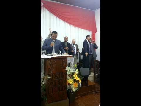 Pr Fábio Leandro e a Dupla Elder e Osiel em General Salgado sp