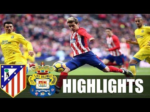 Atletico Madrid vs Las Palmas 3x0 ● Resumen y Goles / Goals & Highlights ► La Liga 28/01/2018