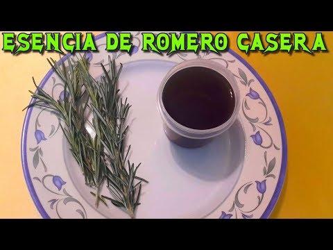 Videos caseros - COMO HACER ESENCIA DE ROMERO CASERA
