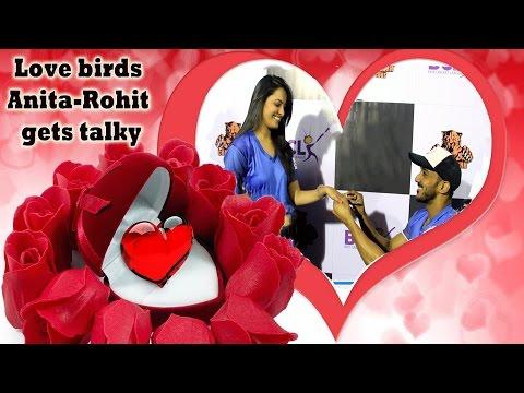 Valentine'sDay Spl : Love birds Anita-Rohit gets t