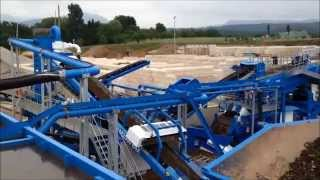 Railway ballast recycling by CDE