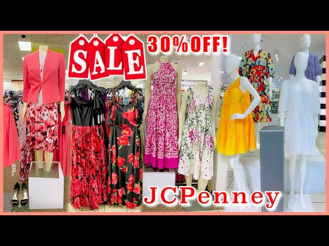 ♥︎JCPENNEY WOMEN'S DRESSES SALE 30%OFF‼️CASUAL SUNDA… видео