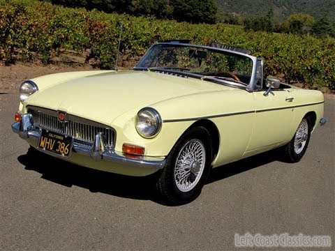1968 MGB Roadster for Sale: Very Original Classic MGB