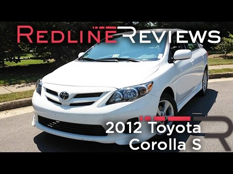 2012 Toyota Corolla S Review, Walkaround, Exhaust, & Test Drive