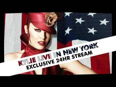 Kylie Minogue - Live In New York (Exclusive Stream)