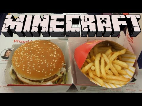 Minecraft - McDonald's