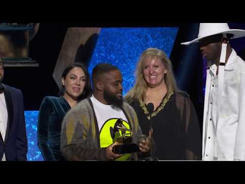Lil Nas X & Billy Ray Cyrus Wins Best Music Video Of The Year | 2020 GRAMMYs Acceptance Speech